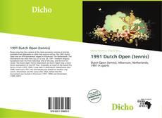Couverture de 1991 Dutch Open (tennis)