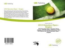 Обложка 2012 Heineken Open – Singles