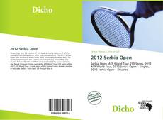 Bookcover of 2012 Serbia Open