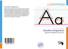 Обложка Classifier (Linguistics)