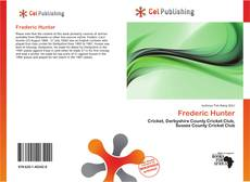 Frederic Hunter kitap kapağı