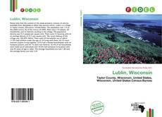 Lublin, Wisconsin kitap kapağı