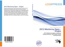Bookcover of 2012 Monterrey Open – Singles