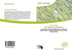 Couverture de Ali Rahma Al Marri