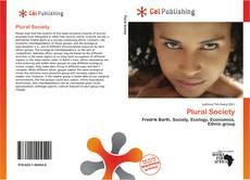 Capa do livro de Plural Society