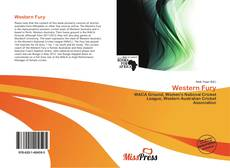 Bookcover of Western Fury