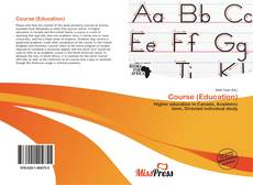 Bookcover of Course (Education)