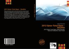 Bookcover of 2012 Qatar Total Open – Doubles