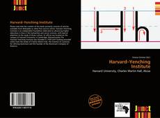 Couverture de Harvard–Yenching Institute