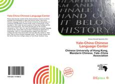 Bookcover of Yale-China Chinese Language Center