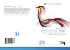 Bookcover of 2009 Almaty Cup – Singles