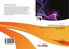 Bookcover of 2009 Baden Open