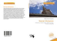 Portada del libro de Social Distance