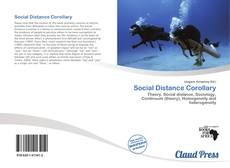 Bookcover of Social Distance Corollary