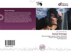 Bookcover of Social Entropy