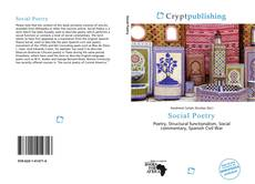 Social Poetry kitap kapağı
