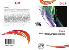 Bookcover of Siduri
