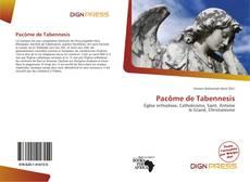 Pacôme de Tabennesis kitap kapağı