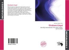 Couverture de Graham Lloyd