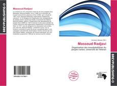 Borítókép a  Massoud Radjavi - hoz