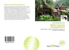 Bookcover of Status–income Disequilibrium