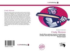 Bookcover of Cindy Eksteen