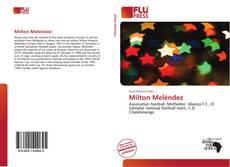 Bookcover of Milton Meléndez