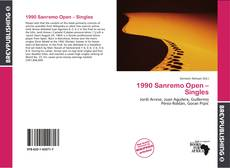 Bookcover of 1990 Sanremo Open – Singles