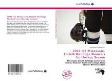 Обложка 2001–02 Minnesota-Duluth Bulldogs Women's Ice Hockey Season