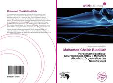 Bookcover of Mohamed Cheikh Biadillah