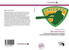 Bookcover of Mariam Hasan