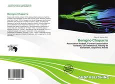 Capa do livro de Benigno Chaparro