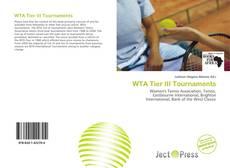 Bookcover of WTA Tier III Tournaments
