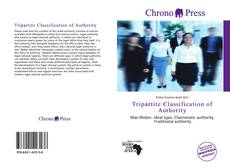 Bookcover of Tripartite Classification of Authority