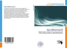 Aziz Akhannouch kitap kapağı
