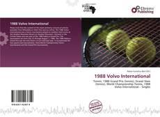 Bookcover of 1988 Volvo International