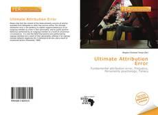 Bookcover of Ultimate Attribution Error