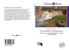 Bookcover of Unintended Consequences
