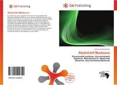 Buchcover von Abdellatif Maâzouz