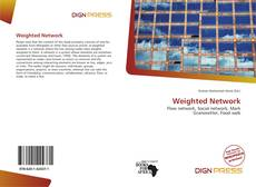 Weighted Network kitap kapağı