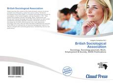 Copertina di British Sociological Association