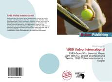 Bookcover of 1989 Volvo International