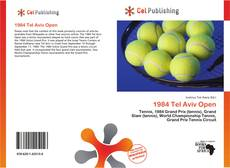 Bookcover of 1984 Tel Aviv Open