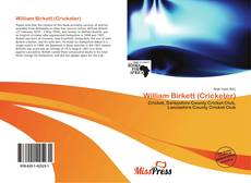 Bookcover of William Birkett (Cricketer)