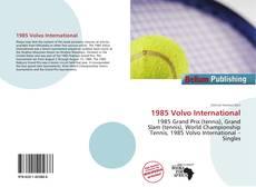 Bookcover of 1985 Volvo International
