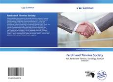Ferdinand Tönnies Society kitap kapağı