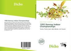 Capa do livro de 1992 Donnay Indoor Championships