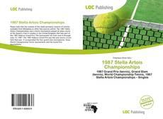 Bookcover of 1987 Stella Artois Championships