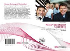Copertina di Korean Sociological Association