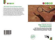 Bookcover of 1981 Stella Artois Championships